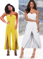 2018 Two New Styles Ladies Evening Party Jumpsuit Sexy Strap...