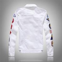 Fashion Yuwaijiren Giacca da uomo in denim da uomo di alta qualità Jacks giacche casual streetwear vintage mens jean abbigliamento