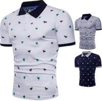 Eur Taille Mens Shirt À Manches Courtes Nouvel Été De Couture De Chèvre Motif De Couture T-shirt Pour T-shirt pour les hommes M-5XL