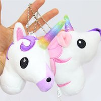 Unicorn Plush Stuffed Animals Toys Soft Rainbow Horse Dolls ...