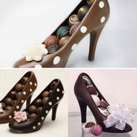 High Heel-Schuhe PC Praline-Mold Bundle 3D Molding Anleitung Fondant-Kuchen-Form für DIY Backformen