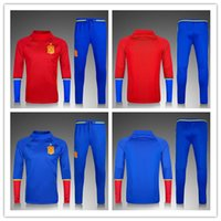 2016 17 Spain Tracksuit Jogging Winter Uniform Football 16 1...