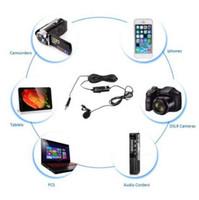 بويا BY-M1 ميكروفون مكثف من لافالير لكاميرات كانون نيكون DSLR ، ميكروفون استديو لآيفون X 7 بلس Zoom H1N Handy