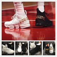 2018 New Arrival XV 15 EQUALITY Black White Basketball Shoes...