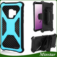 New X Style Rugged Holster Combo Kickstand Case with Belt Cl...