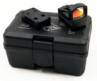 Tactical RMS Reflex Mini Red Dot Sight Com Vented Mount e espaçadores para pistola de alumínio escopos de caça