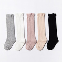 Baby Socks Kids Knee High Socks Tube Ruffled Sock Girls Wint...