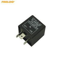 FEELDO Car CF14 Flasher Relay Fix LED/SMD Fast Indicator BlinkerDecoder Electronic Turn Signals #5358