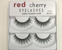 Red Cherry False eyelashes 5 pairs pack 8 Styles Natural Lon...