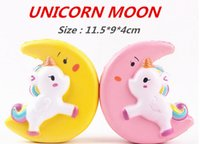 Slow Rising Squishy UNICORN MOON Icecream Flash Powder Kawai...