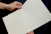 Sconto! Cottonlinen Security Paper 85GSM Anti contraffazione Bianco Colore Bianco A4 Dimensione Starchacid Free Impermeabile per banconota / Bill / Denaro / Certificato (20sheet / Borsa)