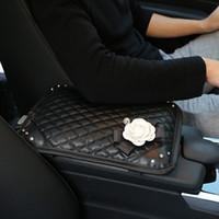CARSHAPING BlingBling Autoinnenausstattung, Diamant, Kamelie, Lady Car, Dekorative Armlehnenbox, Handkoffer Autozubehör