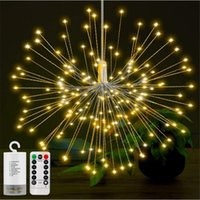 180led Firework copper string light Bouquet Shape LED String...