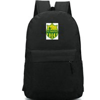 Нант рюкзак Les Canaris ФК рюкзак футбольный клуб школьный футбольная команда рюкзак спортивная школа сумка Открытый день пакет