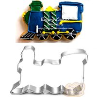 10pcs Thomas train Metal Cookie Cutter cartoon Fondant Cake ...