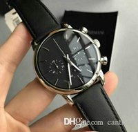 Hot Selling Top Quality Luxury Watch AR1733 Leather strap Cl...