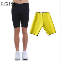 Plus Size 3XL Hombres Super Stretch Neoprene Control Slimming Shorts Mejores ventas Sweat Sauna Shapers Cuerpo Transpirable Ropa interior Pantalones