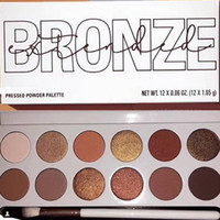 New makeup The Bronze Extended Palette 12colors Pressed Powd...