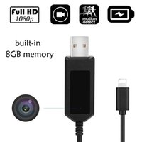 16GB memory Charging Cable Camera HD 1920*1080P Mini Video C...