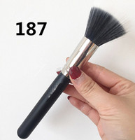 30pcs / lot-Großhandel neue Kosmetikbürsten M187 Big Duo Faser Puder Pinsel Makeup Single Face Contour Mixer Pinsel Set Kostenloser Versand