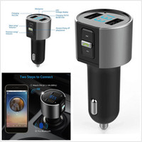 TOP-Qualität Drahtloses Auto Bluetooth FM Transmitter Radio AdapterCar USB Charge Kit Schwarz MP3 Player LED Digitalanzeige