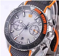 0416ab07b53 Clássico super azul verde luz noturna relógio Cronógrafo VK Quartz Relógios  Homens Top Marca de Luxo