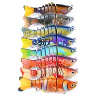 2018 Colorful 10CM 15. 6G Swimbait Hard Bait Fishing Lure Qua...