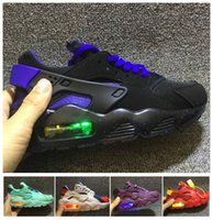 Designer Lighted Kids Huarache Run Boys Running Shoes Childr...