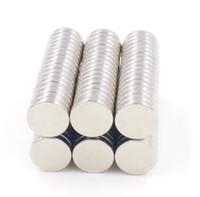 100pcs Dia.12mm x 1.5mm Forte Ronde Terre Aimant De Néodyme Rare Art Craft Aimants Pour Réfrigérateur