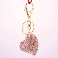 Cute Love Heart Shape Key Chain Fashion Metal Alloy Lovely G...