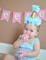 아기 소녀 생일 파티 모자 캡 프린세스 크라운 파티 장식 토핑 아이들은 머리띠 크라운 캡 모자 헤어 액세서리를 부탁