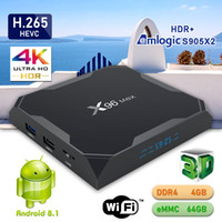 Newest X96 Max Android 8. 1 TV BOX Quad Core LPDDR4 4GB eMMC ...