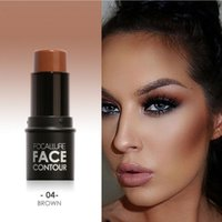 Focallure Face Bronzer&Highlighter Stick 4 Colors Profession...