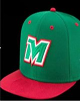 National Team Mexico Fitted hats Baseball Embroidered Team L...
