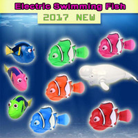2018 New Funny Swimming Electronic Robofish Activated Batter...
