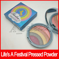 2018 Faced cosmetics Face Powder Rainbow Strobe Highlighter ...