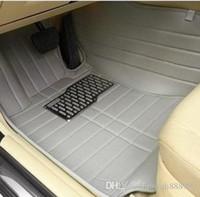 Tapis de sol sur mesure pour voiture Toyota Sienna XL30 XL20 7/8 sièges MPV 3D revêtements de sol de tapis de voiture résistant (2004-maintenant)
