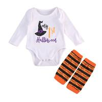 Nouveau-nés Vêtements de bébé pour bébé tout-petits à manches longues Romper + Jambières Vêtements pour enfants Vêtements pour enfants Garçon Fille Costumes pour les enfants