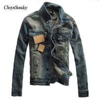 2018 ChoynSunday Hot Sale Man Fashion Jacket Jeans Chaqueta para hombres 2018 New Fashion Style Thin Hole Streetwear Y