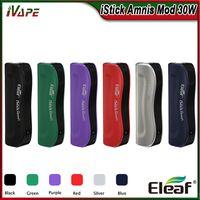 100% оригинальный Eleaf iStick Amnis аккумулятор Buit-in 900mAh Mod 30 Вт с красочными светодиодами индикатор электронная сигарета Vape Mod fit GS Drive бак