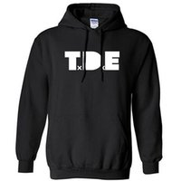 mens cotton hoodies TDE J COLE House Top Dawg Entertainment ...
