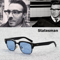JackJad 2017 New Fashion The Statesman Beckham Sunglasses Ey...