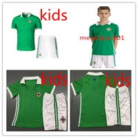 Kids Northern Ireland soccer Jerseys 2018 world cup kids jer...