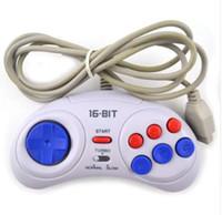 Новый игровой контроллер для Sega Genesis для 16-битной ручки геймпад для MD игровые аксессуары приносят турбо и медленную функцию