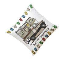 Ouneed Dekoratif Yastık Kılıfı mutlu kampçılar Yastık Kılıfı Kanepe Bel Atmak Yastık Örtüsü Ev Dekor Yastık kapak L629