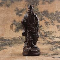 نحت الخشب الصلب رائحة ارتفاع الآلهة في الصين محظوظ - جي قونغ