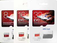 EVO Plus Real Capacity 32GB 16GB 8GB EVO + Memory TF Trans Flash Card Class 10 para cámaras Teléfonos inteligentes