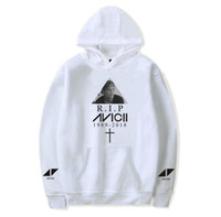 R. I. P Avicii Sweatshirts Women Men Long Sleeve Sweatshirt Ho...