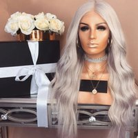 High Quality Body Wave 180% Density Heat Resistant Hair Ash ...