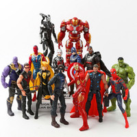14 Style Avengers 3 Infinity War Figure toys New Thanos Iron...